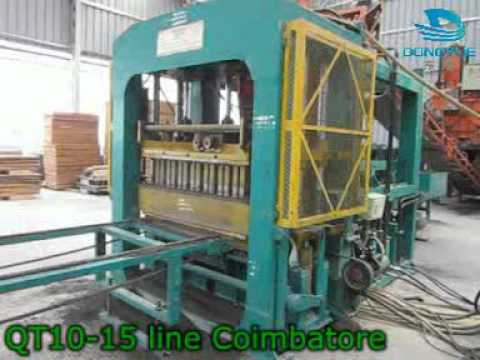 India automatic fly ash(Fal-G) solid brick block plant