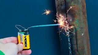 getlinkyoutube.com-Идея сварки без рук/An idea of welding without using your hands