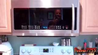 getlinkyoutube.com-New Samsung Above Range Microwave
