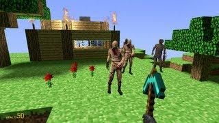 getlinkyoutube.com-【Minecraft?】マインクラフトを物理演算でプレイ