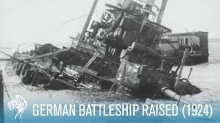 getlinkyoutube.com-German Battleship Raised (1924)