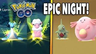 SHINY HUNT CONTINUES & EPIC 10 KM EGG HATCHES! Pokemon GO