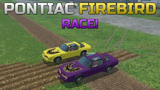 getlinkyoutube.com-Farming Simulator 15 - Pontiac Firebird Race!