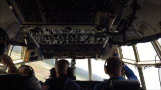 getlinkyoutube.com-Blue Angles Fat Albert C-130 Ride Along