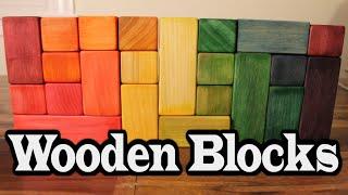DIY Wooden Blocks ~ Easy Wood Toy