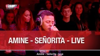 getlinkyoutube.com-Amine - Señorita - Live - C'Cauet sur NRJ