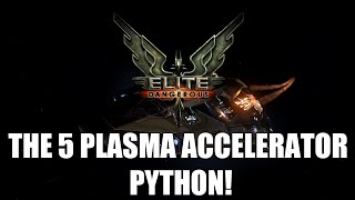 getlinkyoutube.com-Elite: Dangerous - The 5 Plasma Accelerator Python!   Loadout Test