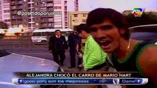 getlinkyoutube.com-COMBATE: Alejandra Choco el Carro de Mario Hart 18/07/13