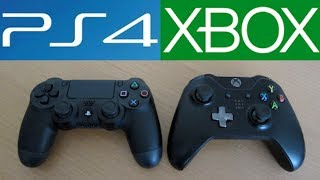 getlinkyoutube.com-PS4 vs XBOX ONE: Controller Comparison!!