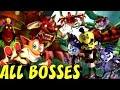 Crash of the Titans - All Bosses No Damage