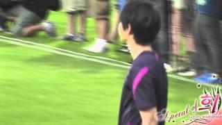 getlinkyoutube.com-[HD][Fancam] 120523 - Joongki warm up at Asian Dream Cup