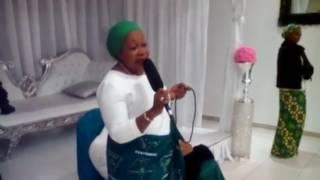 getlinkyoutube.com-Maman CHRISTINE DIANGIENDA 1er DIMANCHE A VITRY LE 01 JANVIER 2017 MESSAGE SPIRITUEL