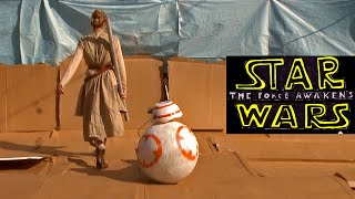 Star Wars: The Force Awakens trailer sweded