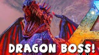 getlinkyoutube.com-ARK Survival Evolved Dragon Boss Arena | VS LEVEL 750 GIGA  | Boss Kill | Gameplay ( Dragon Drops )
