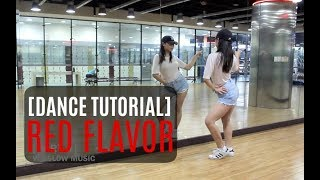 Red Velvet 레드벨벳 빨간 맛 (Red Flavor)  Lisa Rhee Dance Tutorial