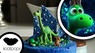 getlinkyoutube.com-The Good Dinosaur Cake | Action Figure Birthday Cake| Birthday Cakes | How To