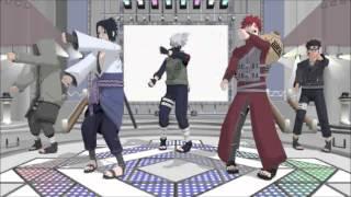 getlinkyoutube.com-[MMD] Naruto Characters~ Ievan Remix