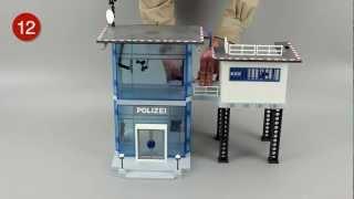 getlinkyoutube.com-Playmobil® Polizei Kommandostation 5176 | Zusammenbau AufBauAnleitung | Assembling Instruction