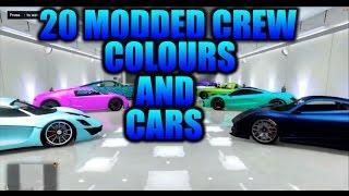 getlinkyoutube.com-GTA 5 20 MODDED CREW COLOURS AND CARS