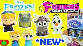 getlinkyoutube.com-*New* Frozen Fashems Kristoff Sven Pabbie Anna Elsa Olaf Full Set Case