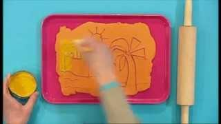 getlinkyoutube.com-Mister Maker | Plasticine Etching Picture