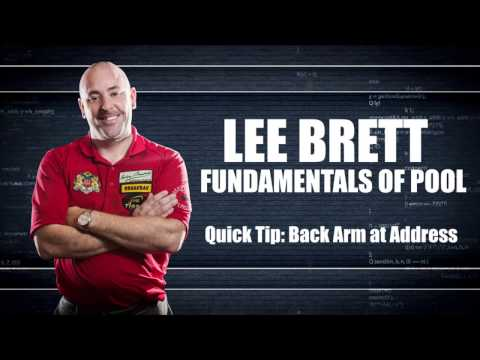 APA - Lee Brett Instructional Series - Quick Tip - Back Arm at Address
