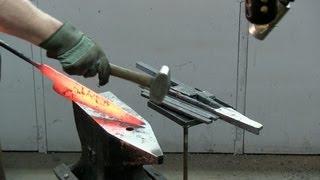 getlinkyoutube.com-Forging a Kabab Barg Knife
