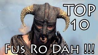 getlinkyoutube.com-TOP 10 FUS RO DAH !!!