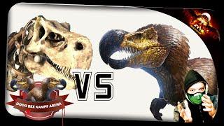 getlinkyoutube.com-DodoRex Vs. Skeleton T-Rexe ✪ Ark: Survival Evolved German Deutsch | ARK SE