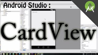 "getlinkyoutube.com-How to create card ""CardView"" in Android Studio"