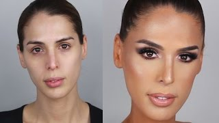 getlinkyoutube.com-Bronze Glowy Skin Makeup Tutorial with Carmen Carrera | PatrickStarrr
