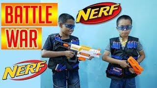 Tembak Tembakan | Nerf War Indonesia | Nerf Battle | Battle Indo   Nerf Indonesia