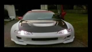 getlinkyoutube.com-Eclipse GSX Wide Custom Body Kit Transformation