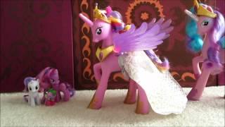 getlinkyoutube.com-Princess Cadence My Little Pony Friendship is Magic Canterlot Wedding Toy figure