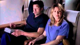 "getlinkyoutube.com-Grey's Anatomy 8x23 ""Plane Crash - Ending Scene"""
