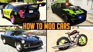 getlinkyoutube.com-GTA 5 Car MODS, How to Mod Cars in GTA 5 (CAR MOD SHOW CASE)