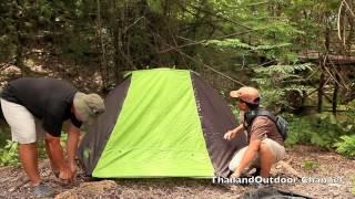 getlinkyoutube.com-Coleman Touring Dome tent