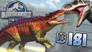 getlinkyoutube.com-OSTAPOSAURUS ATTACKS!! || Jurassic World - The Game - Ep181 HD