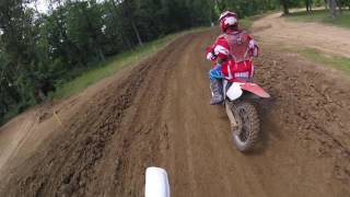 Briarcliff MX - A Track - Yamaha HL500  6.26.16