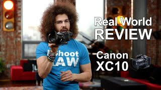 """getlinkyoutube.com-Canon XC10 4K Camcorder """"Real World Review"""""""