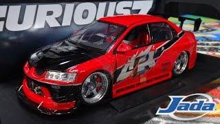 getlinkyoutube.com-Fast and Furious Tokyo Drift Sean's Mitsubishi Lancer Evolution - Jada Toys