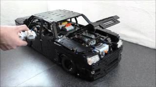 LEGO Technic VW Phaeton 6.0 W12 scale 1:7 (Part III)