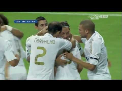 Real Madrid - Barcelona 2-2 All Goals & Match Highlights (HD 720p) Spanish Super Cup 14/08/2011