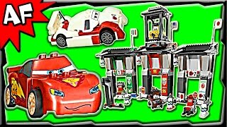 getlinkyoutube.com-Lego Cars TOKYO International CIRCUIT 8679 Stop Motion Set Review