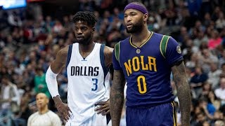 getlinkyoutube.com-Nerlens Noel Mavericks Debut! New Look Pelicans Struggling!