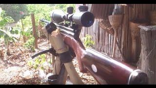 getlinkyoutube.com-Review Steven Air gun เบอร์ 2/ 5.5 ระยะ 45 ก้าว