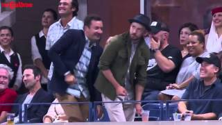 getlinkyoutube.com-Jimmy Fallon & Justin Timberlake dance to 'Single Ladies' at US open