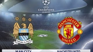 getlinkyoutube.com-Manchester United vs Manchester City - FULL MATCH GAMEPLAY -  PES 2016