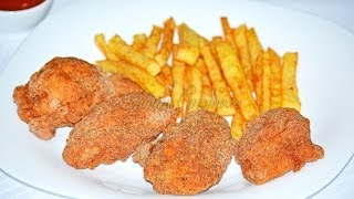 getlinkyoutube.com-Aripioare picante KFC / KFC Wings - JamilaCuisine