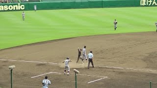 getlinkyoutube.com-2015夏の高校野球【決勝戦】仙台育英 執念の三塁打 6-6の同点 ものすごい大歓声 The Final of High School Baseball